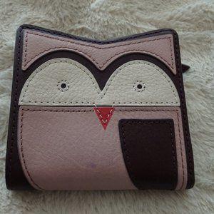 Owl Wallet - Fossil